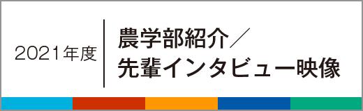 2021年度 学部紹介/先輩インビュー映像