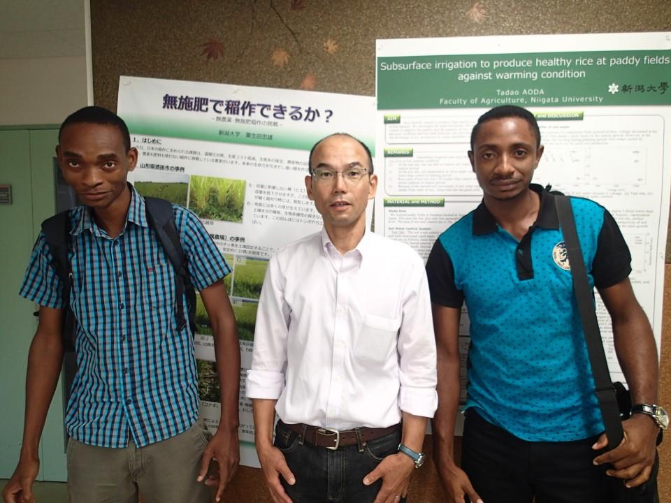 アフリカからの留学生-日本農業を客観視できる-