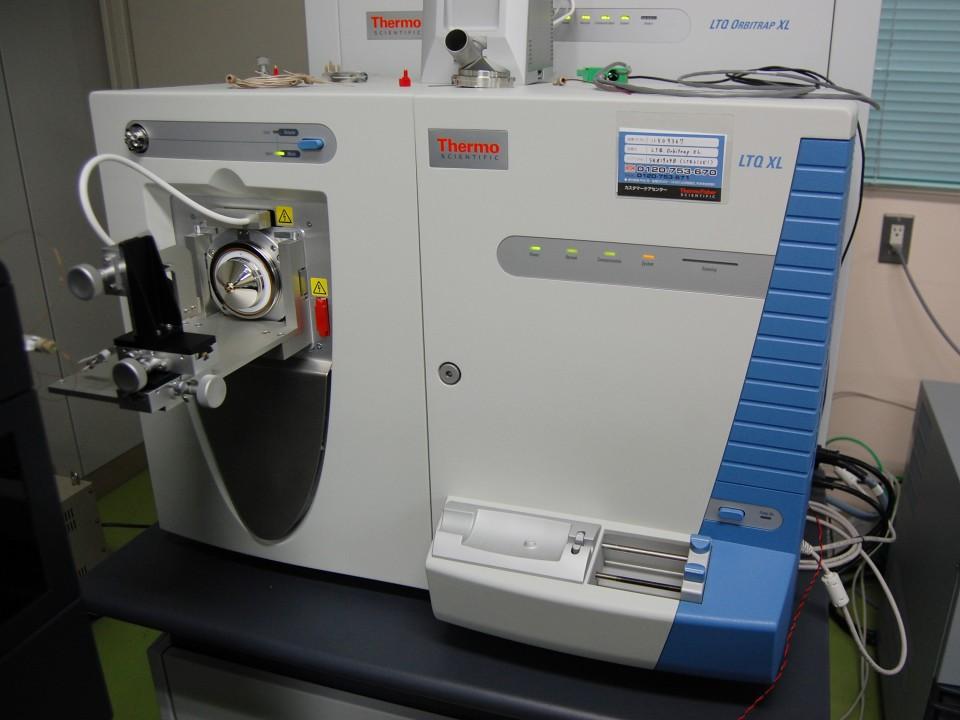 プロテオミクスに使用する質量分析装置