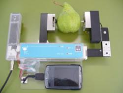初期型の振動物性測定器