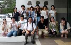 2012年7月 研究室の記念撮影
