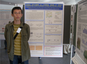 ランカスター大学(イギリス)で開催された国際窒素同化会議で、博士課程の大学院生がNRT2の研究でポスター発表をしました。